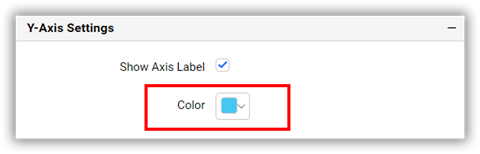 Axis Label color Option