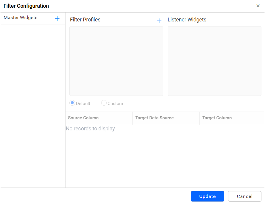 Filter Configuration