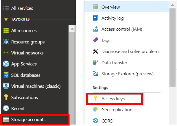 Account key