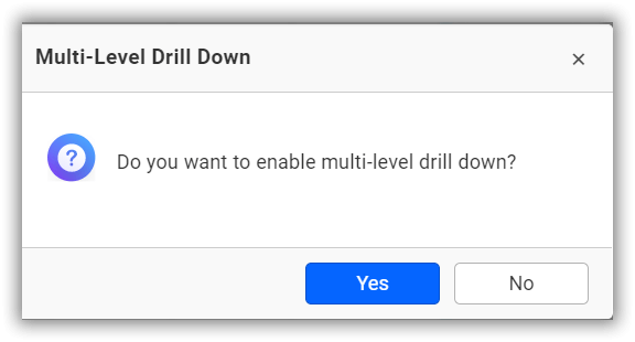 Drill confirmation alert