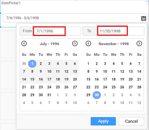 disabling date range limit